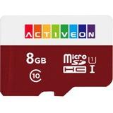 ACTIVEON 8GB MicroSDHC Card