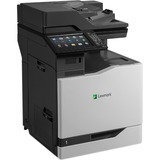Lexmark CX825DE Laser Multifunction Printer - Color - Plain Paper Print - Floor Standing - Copier/Fax/Printer/Scanner (42K0040)