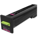 Lexmark CX825, CX860 Magenta Extra High Yield Return Program Toner Cartridge