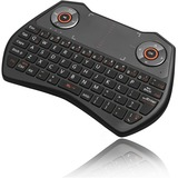 Adesso SlimTouch 4020 - 2.4GHz Wireless Keyboard with Touchpad - Wireless Connectivity - RF - USB Interface - English (WKB-4020UB)