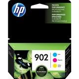HP 902 3-pack Cyan/Magenta/Yellow Original Ink Cartridges
