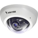 Vivotek FD8166A 2 Megapixel Network Camera - Color - Motion JPEG, H.264 - 1920 x 1080 - 2.80 mm - CMOS - Cable - Dome (FD8166A-F2-W)