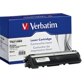 Verbatim Remanufactured Laser Toner Cartridge alternative for Brother TN210BK - Laser - 2200 Page - 1 Pack (99355)
