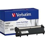 Verbatim Remanufactured Laser Toner Cartridge alternative for Brother TN660 - Laser - 2600 Page - 1 Pack (99359)