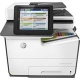 HP PageWide Enterprise 586dn Page Wide Array Multifunction Printer - Color - Plain Paper Print - Desktop - Copier/Pri (G1W39A#BGJ)
