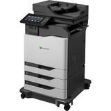 Lexmark CX825dte Laser Multifunction Printer - Color - Plain Paper Print - Floor Standing - Copier/Fax/Printer/Scanne (42KT151)