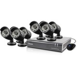 Swann DVR8-4400 - 8 Channel 720p Digital Video Recorder & 8 x PRO-A850 Cameras