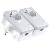 TP-LINK AV500 Powerline Adapter with AC Pass Through Starter Kit