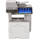 Ricoh MP 501SPF Laser Multifunction Printer - Monochrome - Plain Paper Print - Desktop - Copier/Fax/Printer/Scanner - (U2T05E)