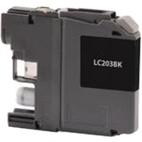 Clover Technologies High Yield Black Ink Cartridge for Brother LC203