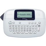 Brother PT-M95 Handheld Label Maker - Thermal Transfer - 7.50 mm/s Mono - 1 Fonts - 230 dpi - Tape, Label - 0.35in (9 (PTM95)