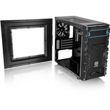 Thermaltake Versa H13 M-ATX Gaming Chassis - Micro Tower - Black - SPCC - 4 x Bay - 1 x 4.72IN x Fan(s) Installed - 0 (CA-1D3-00S1NN-00)