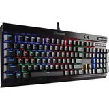 Corsair K70 LUX RGB Mechanical Gaming Keyboard - Cherry MX RGB Red - Cable Connectivity - USB 2.0 Interface - 104 Key (CH-9101010-NA)