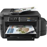 Epson WorkForce ET-16500 Inkjet Multifunction Printer - Color - Plain Paper Print - Desktop - Copier/Fax/Printer/Scan (C11CF49201)
