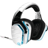 Logitech G933 Artemis Spectrum and Artemis Spectrum Snow Wireless 7.1 Gaming Headset - Stereo - White - USB, Mini-pho (981-000620)