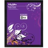 DAX Square Black Poster Frame