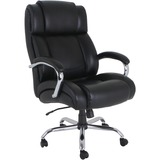 Lorell Big and Tall Leather Chair with UltraCoil Comfort