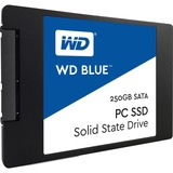 WD Blue 250GB Internal SSD Solid State Drive - SATA 6Gb/s 2.5 Inch - 540 MB/s Maximum Read Transfer Rate - 500 MB/s M (WDS250G1B0A)