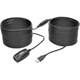Tripp Lite USB 2.0 Hi-Speed Active Extension Repeater Cable (USB-A M/F), 15 m (49 ft)