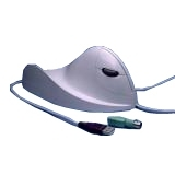 Designer Appliances Quill Mouse White Ergonomic PC,MA Left Hand by Ergoguys