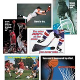 Trend Sports Motivating Posters Combo Pack