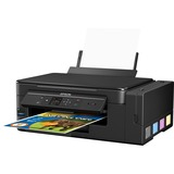 Epson Expression ET-2650 Inkjet Multifunction Printer - Color - Plain Paper Print - Desktop - Copier/Printer/Scanner (C11CF47201)