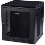CyberPower Swing-out Wall Mount Enclosure - 19IN 12U Wide x 18.20IN Deep Wall Mountable for LAN Switch, Patch Panel - (CR12U51001)