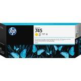 HP 745 300-ml DesignJet Yellow Ink Cartridge
