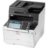 Oki MC500 MC573dn LED Multifunction Printer - Color - Plain Paper Print - Desktop - Copier/Fax/Printer/Scanner - 31 p (62447301)