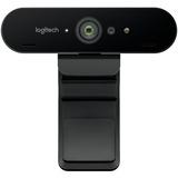 Logitech BRIO Webcam - 90 fps - USB 3.0 - 4096 x 2160 Video - Auto-focus - 5x Digital Zoom - Microphone - Notebook (960-001105)