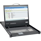 Tripp Lite Rack Console 1URM DVI, VGA for KVM Switch, 19IN LCD 1080p Rackmount Console TAA - 1 Computer(s) - 19IN LCD (B021-000-19-HD2)