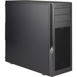 Supermicro SuperChassis GS5A-753K Computer Case - Mid-tower - Black, Gray - Anodized Aluminum - 12 x Bay - 3 x 4.72IN (CSE-GS5A-753K)