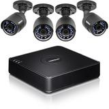 TRENDnet 4-Channel HD CCTV DVR Surveillance Kit - Digital Video Recorder, Camera - H.264 Formats - 1 TB Hard Drive - (TV-DVR104K)