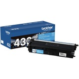 Brother TN433C Original Toner Cartridge - Cyan - Laser - High Yield - 4000 Pages - 1 Each (TN433C)