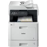 Brother MFC-L8610CDW Laser Multifunction Printer - Color - Plain Paper Print - Desktop - Copier/Fax/Printer/Scanner - (MFCL8610CDW)