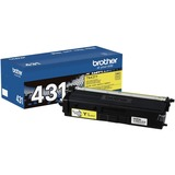 Brother TN431Y Original Toner Cartridge - Yellow - Laser - Standard Yield - 1800 Pages - 1 Each (TN431Y)
