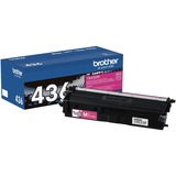 Brother TN436M Original Toner Cartridge - Magenta - Laser - Standard Yield - 6500 Pages - 1 Each (TN436M)
