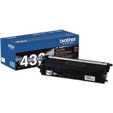 Brother TN433BK Original Toner Cartridge - Black - Laser - High Yield - 4500 Pages - 1 Each (TN433BK)