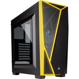 Corsair Carbride Spec-04 Computer Case - Mid-tower - Black, Yellow (CC-9011108-WW)