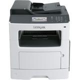 Lexmark MX417de Laser Multifunction Printer - Monochrome - Plain Paper Print - Desktop - Copier/Fax/Printer/Scanner - (35SC701)