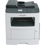 Lexmark MX317dn Laser Multifunction Printer - Monochrome - Plain Paper Print - Desktop - Copier/Fax/Printer/Scanner - (7JQ-00196)