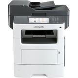 Lexmark MX617de Laser Multifunction Printer - Monochrome - Plain Paper Print - Desktop - Copier/Fax/Printer/Scanner - (35SC705)