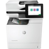 HP LaserJet M681f Laser Multifunction Printer - Color - Plain Paper Print - Desktop - Copier/Fax/Printer/Scanner - 50 (J8A12A#BGJ)