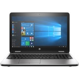 HP ProBook 650 G3 15.6in LCD Notebook - Intel Core i7 (7th Gen) i7-7820HQ Quad-core (4 Core) 2.90 GHz - 16 GB DDR4 SD (1NW45UT#ABA)