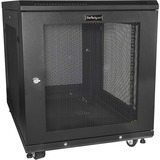 StarTech.com Server Rack Cabinet - 12U - 31in Deep Enclosure - Network Cabinet - Rack Enclosure Server Cabinet - Data (RK1233BKM)
