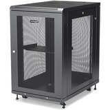 StarTech.com Server Rack Cabinet - 18U - 31in Deep Enclosure - Network Cabinet - Rack Enclosure Server Cabinet - Data (RK1833BKM)