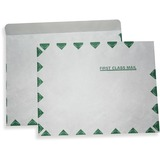 "ALL-STATE LEGAL Tyvek Flat Envelopes - 100/Box 10"" x 13"", Tyvek Envelope, 18 lb., FIRST CLASS Border, Open Side, Pull & Close, 100/BX"