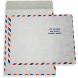 "ALL-STATE LEGAL Tyvek Flat Envelopes - 100/Box 9 1/2"" x 12 1/2"", Tyvek Envelope, 14 lb., AIR MAIL Border, Open End, Pull & Close, 100/BX"