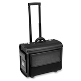 ALL-STATE LEGAL Carrying Case (Roller) Binder, File - Black Black Wheeled Carrying Case, Nylon, 1/PK
