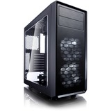 Fractal Design Focus G Computer Case with Side Window - Mid-tower - White - 5 x Bay - 2 x 4.72IN x Fan(s) Installed - (FD-CA-FOCUS-WT-W)